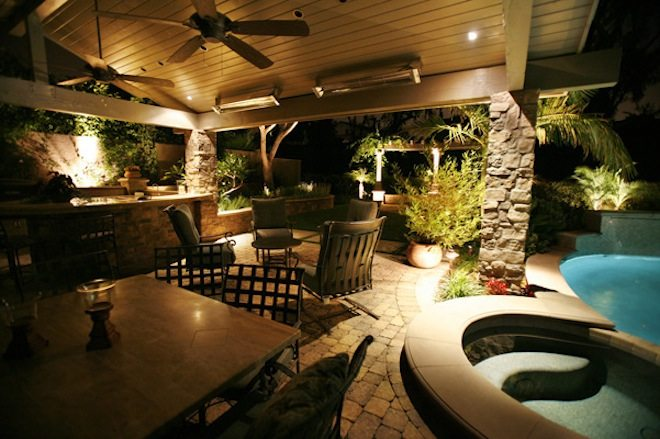 Lovely Outdoor Living installation by Carolina Creations