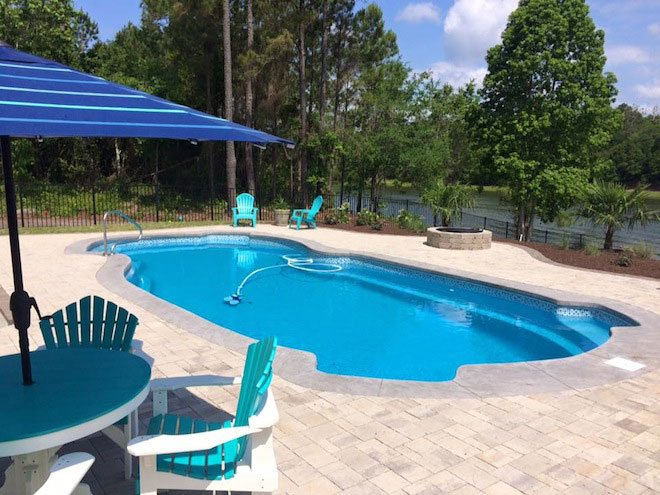 We're Proud of Our Pool Installations!